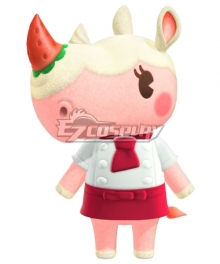 Animal Crossing: New Horrizon Merengue Rhino Cosplay Costume