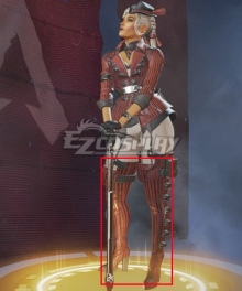 Apex legends Loba Red Shoes Cosplay Boots