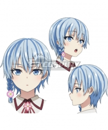 Are You Really the Only One Who Likes Me? Runa Kusami Blue Cosplay Wig