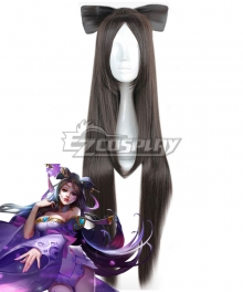 Arena Of Valor Honor of Kings Diao Chan Peerless Dancer Black Cosplay Wig