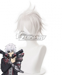 Arifureta: From Commonplace To World's Strongest Strongest Hajime White Grey Cosplay Wig - 493C