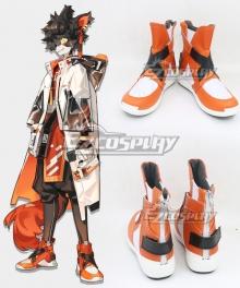 Arknights Aak Orange Cosplay Boots