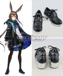 Arknights Amiya Black Cosplay Shoes