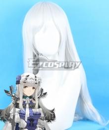 Arknights Bibeak Silver Cosplay Wig
