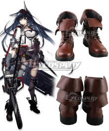 Arknights Blaze Brown Cosplay Shoes