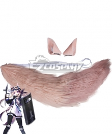 Arknights Cardigan Ears Tail Cosplay Accessory Prop