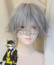 Cyberpunk Edge Runners Edgerunner  Grey Cosplay Wig