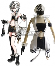 Arknights Cliffheart White Cosplay Costume