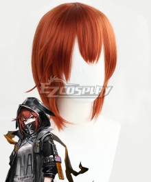 Arknights Crownslayer Orange Cosplay Wig