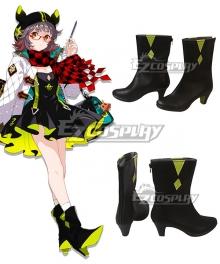 Arknights Deepcolor Black Cosplay Shoes