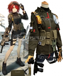 Arknights Exusiai Wilderness Agent Skin Cosplay Costume