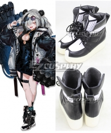 Arknights FEater Black Cosplay Shoes