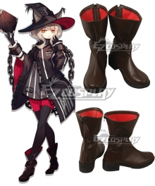 Arknights Haze Brown Cosplay Shoes