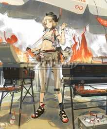 Arknights Ifrit Swimsuit Skin Cosplay Costume