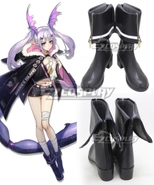 Arknights Manticore Black Cosplay Shoes