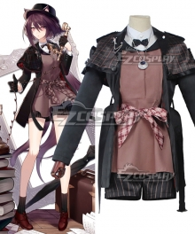 Arknights Melantha Epoque Cosplay Costume