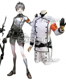 Arknights Reunion Member Mephisto Cosplay Costume
