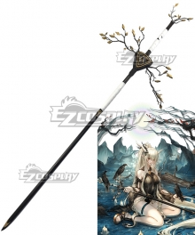 Arknights Shining CoralCoast Staves Cosplay Weapon Prop