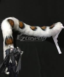 Arknights Silverash Pramanix Cliffheart Snow Leopard Tail Helloween Cosplay Accessory Prop