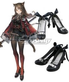 Arknights Skyfire Black Cosplay Shoes