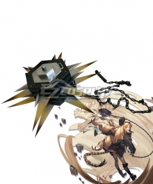 Arknights Swire Elite Promotion Meteor Hammer Cosplay Weapon Prop