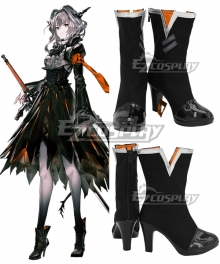 Arknights Talulah Black Cosplay Shoes