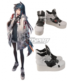 Arknights Texas Winter Black Cosplay Shoes