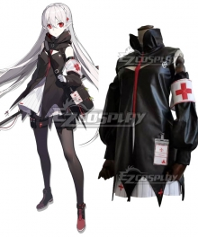 Arknights Warfarin Cosplay Costume
