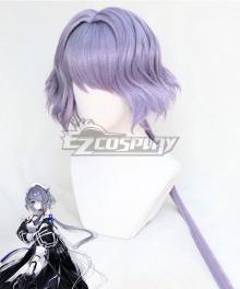 Arknights Whisperain Purple Cosplay Wig