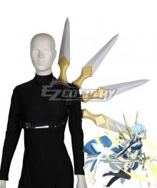 Sword Art Online Alicization War Of Underworld SAO Asada Shino Cosplay Weapon Prop