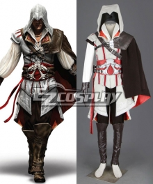 Assassin's Creed II Ezio Cosplay Costume - Deluxe Version