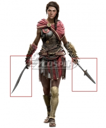 Assassin's Creed Odyssey Kassandra Knife Arrow Cosplay Weapon Prop