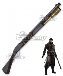 Assassin's Creed:Rogue Shay Patrick Cormac Gun Cosplay Weapon Prop