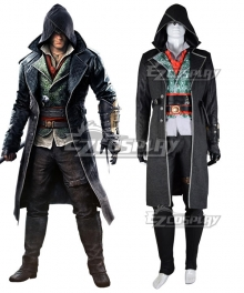 Assassin's Creed Syndicate Jacob Frye Cosplay Costume - B Edition