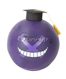 Assassination Classroom Korosensei Wrong Purple Hamlet Mask Cosplay Accessory Prop
