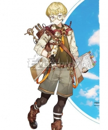 Atelier Ryza 2: Lost Legends and the Secret Fairy Tao Mongarten Cosplay Costume