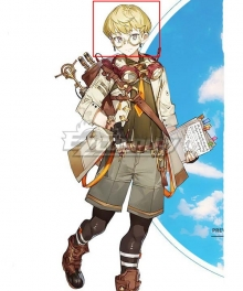 Atelier Ryza 2: Lost Legends and the Secret Fairy Tao Mongarten Golden Cosplay Wig