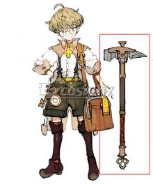 Atelier Ryza: Ever Darkness & the Secret Hideout Tao Mongarten Cosplay Weapon Prop