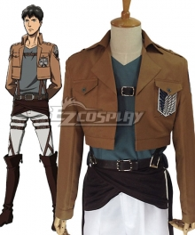 Attack on Titan Shingeki no Kyojin Bertholdt Hoover Bertolt Huber Scout Regiment Cosplay Costume