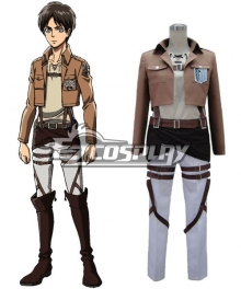 Attack on Titan Shingeki no Kyojin 104th Cadet Corps Eren Yeager Eren Yega Eren Jaeger Cosplay Costume - VersionA