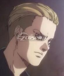 Attack On Titan Shingeki No Kyojin Final Season Porco Galliard Golden Cosplay Wig