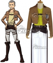 Attack on Titan Shingeki no Kyojin Conny Springer Connie Springer Scout Regiment Cosplay Costume