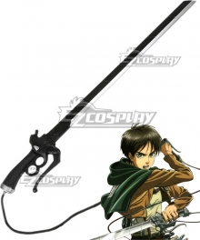 Attack On Titan Shingeki No Kyojin Eren Jaeger Sword Cosplay Weapon Prop