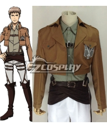 Attack on Titan Shingeki no Kyojin Jean Kirstein Jean Kirschtein Training Corps Cosplay Costume