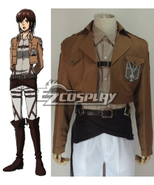 Attack on Titan Shingeki no Kyojin Sasha Blause Training Corps Cosplay Costume