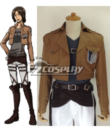 Attack on Titan Shingeki no Kyojin Ymir Scout Regiment Cosplay Costume