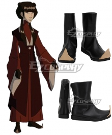 Avatar The Last Airbender Mai Black Cosplay Shoes