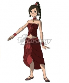 Avatar: The Last Airbender Ty Lee Cosplay Costume New Edition