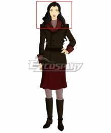 Avatar The Legend Of Korra Asami Sato Black Cosplay Wig