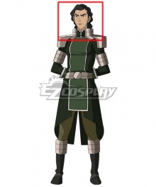 Avatar The Legend of Korra Kuvira Black Cosplay Wig